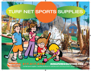 Miniature Golf Catalog Cover