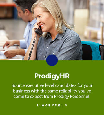 Executive level hiring in Ontario and Québec with ProdigyHR