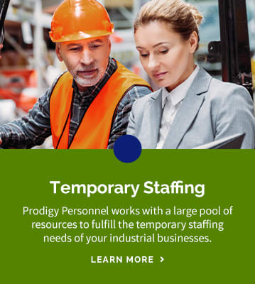 Temporary Staffing with Prodigy Personnel in Ontario and Québec