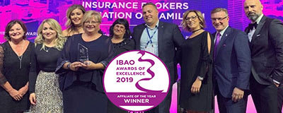 2019 Affiliate of the Year, Insurance Brokers Hamilton