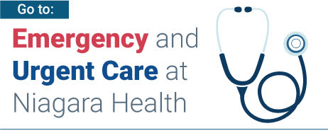 Emergency and Urgent Care at Niagara Health