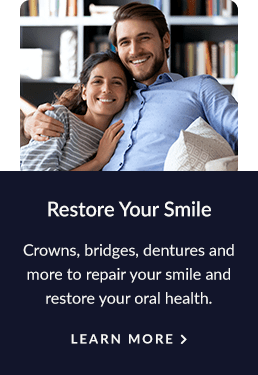 Restorative Services, Vernon Dentist