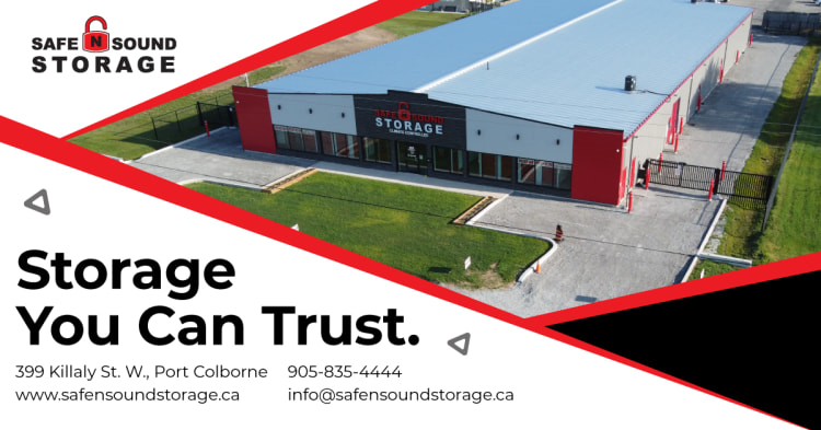 Safe N Sound Self Storage Port Colborne ad