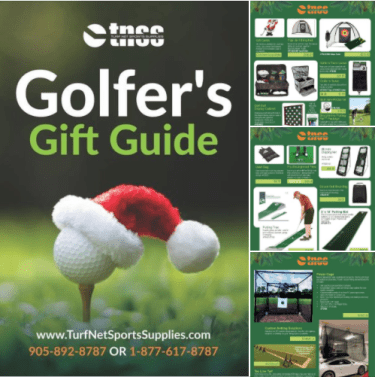 Turf Net Sports Supplies Golfer's Gift Guide